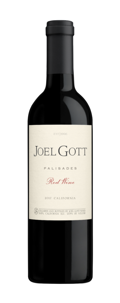Joel Gott Wines - Palisades Red Wine Bottle